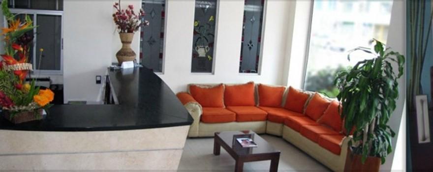 Recepción Fuente www.hoteldiamanteinternacional.com